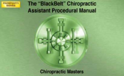 CHIROPRACTIC ASSISTANT BLACKBELT MANUAL